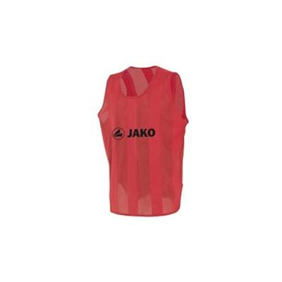 ヤコ(JAKO) ビブス ジュニアサイズ(150cmフリー) 2612 01 レッド 【サッカー フットサル】の画像