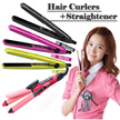 10000pcs sold  ELRA Portable Mini Magic Hair Iron   compact straightener From Korea eyecurl