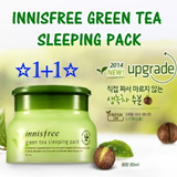 ☆☆1+1 Event☆☆For Limited Time with Limited Qty☆☆ INNISFREE Green Tea Sleeping Pack (80ml)☆Best Selling Sleeping Pack in Singapore and Korea☆