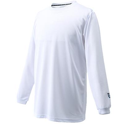 バイク(BIKE)ワンポイントロングTシャツBKC3420ホワイト【バスケットボールトレーニングウェアプラシャツ】
