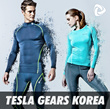 ★1DAY PRICE★TESLA GEARS KOREA LAUNCHING★ Tesla compression sports wear Rash Guard/compression/Sports wear/ Sports /under /base /layer /tight /skin /long short /shirts /pants /Christmas gift