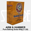 ARM and HAMMER™ Pure Baking Soda 454g (1LB) x 24 packets - FREE SHIPPING BY QXPRESS