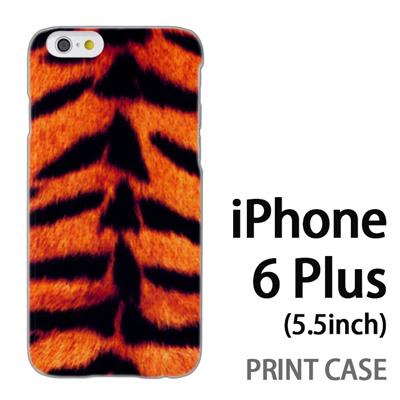 iPhone6 Plus (5.5インチ) 用『No5 寅柄 黄』特殊印刷ケース【 iphone6 plus iphone アイフォン アイフォン6 プラス au docomo softbank Apple ケース プリント カバー スマホケース スマホカバー 】の画像