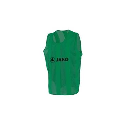 ヤコ(JAKO) ビブス ジュニアサイズ(150cmフリー) 2612 01 グリーン 【サッカー フットサル】の画像