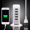 USB Power Adapter 20W Travel Charger 5 Port Max 4.0A Free Ongkir Jakarta!!!
