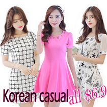 27/4 new FREE SIZE women clothes/lady dress/tops/blouses/shirts/maxi dress/beach/korean fashion