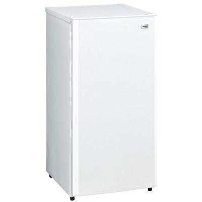 ハイアールキッチンを広く見せるロータイプ!100L前開き式冷凍庫(ホワイト)JF-NU100G-W
