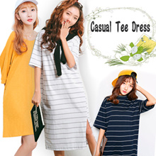 Casual Tee Dress~ For Relaxing Days
