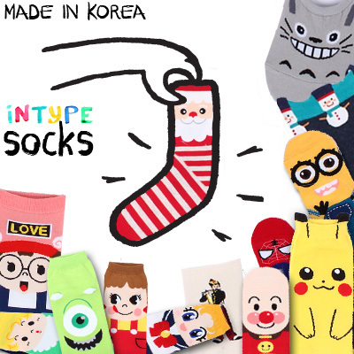 ?Intype Best selling socks!! [5+1 / 10+2 / 20+4 free] updated! MADE IN KOREA SOCKS WOMEN fashion man men kid kids / tour / GIRL / /LOAFER / halloween / invisible / socks Deals for only S$1.9 instead of S$0