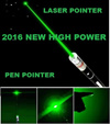 (Free GP heavy duty aaa battery )Laser Pointer Pen ideal for powerpoint Presentation Powerful Stylish Small portable Green Red color options available