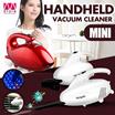 Mini handheld vacuum cleaner / Ultra quiet powerful high power dust remover / Portable/Ultralight/ Multi filter/Corners/Dust/Soot/Room/Floor/Rug/Tube/Brush【M18】