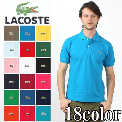 ラコステ LACOSTE 半袖 ポロシャツ L1212 ワンポイント メンズ(男性用)の画像