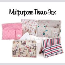 ★Multipurpose Tissue Box Holder★Tissue Case/Organiser Holder/ Local Singapore seller/Fast delivery