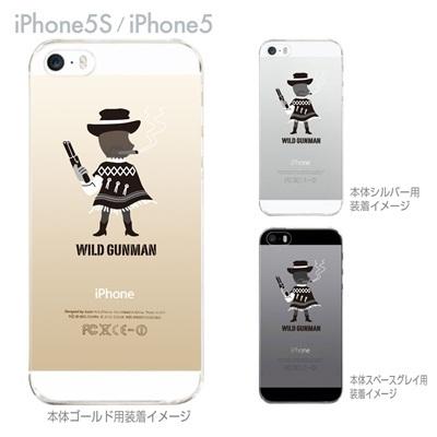 【iPhone5S】【iPhone5】【MOVIE PARODY】【iPhone5ケース】【カバー】【スマホケース】【クリアケース】【ユニーク】【WILD GUNMAN】 10-ip5-ca0046の画像