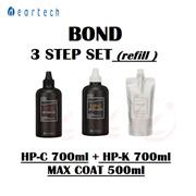 ☆BONDクリニック3STEP SET特価!(HP-K、HP-C(各700ml)、マックスコート500ml)極損傷ヘアケア/損傷ヘアケアヘアクリニック/ボンドクリニック/