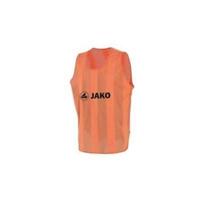 ヤコ(JAKO) ビブス ジュニアサイズ(150cmフリー) 2612 01 オレンジ 【サッカー フットサル】の画像