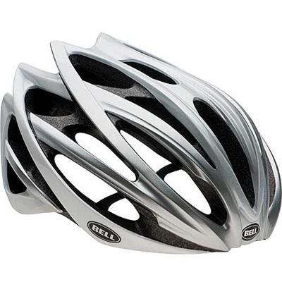 ベル(BELL) ヘルメット GAGE / ゲージ ROAD RACE ホワイトオンブル 【自転車 サイクル レース 安全 二輪】の画像