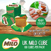 Ready Stock UK Milo Cube - 100pcs-Halal