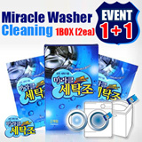 ★Miracle Washer Cleaning 1+1/Eco Step Fabric Softener 500ml★Super Concentrate/Decuple Concentration/Micro-capsule scent/Natural plant Cation/Washing Machine Cleaner/Carbonated soda/gobiz-121