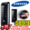 [Samsung] Smart Door Lock SHS-2920 /Silm Body-Glossy Design / Easy Installation / Smart Digital Door