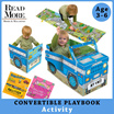 [Read More] ★NEW STOCK★ Convertible Books /Story Book / Large Play Mat /Toy for 3-6 years old / Preschool Kids / Exciting Story / Attractive Pictures / Board format