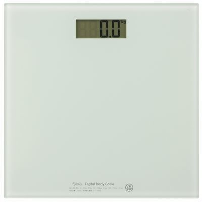 【クリックで詳細表示】オーム電機 デジタル体重計 HBK-T100-W