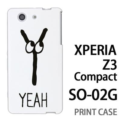 XPERIA Z3 Compact SO-02G 用『0626 「Y」』特殊印刷ケース【 xperia z3 compact so-02g so02g SO02G xperiaz3 エクスペリア エクスペリアz3 コンパクト docomo ケース プリント カバー スマホケース スマホカバー】の画像