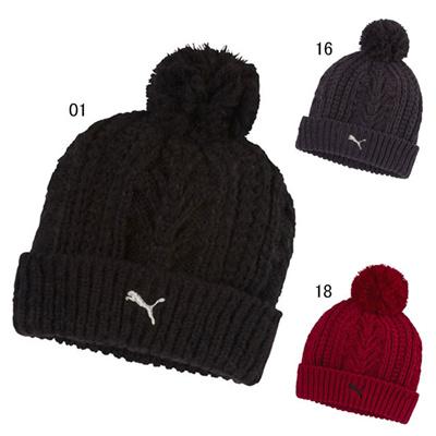 プーマ (PUMA) フォールドポンポンビーニー 834024 [分類:スポーツ ニット帽]の画像