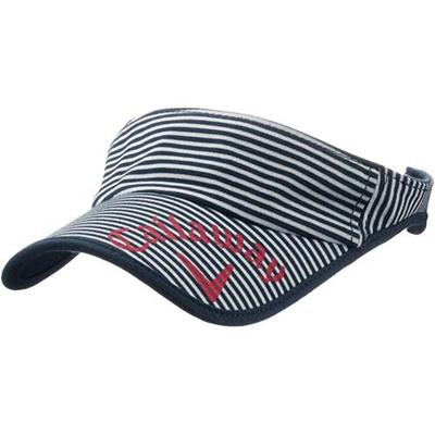 ◆即納◆キャロウェイ(Callaway) レディース マリン バイザー 15 JM NVY 【ウィメンズ ゴルフ 帽子 15】の画像