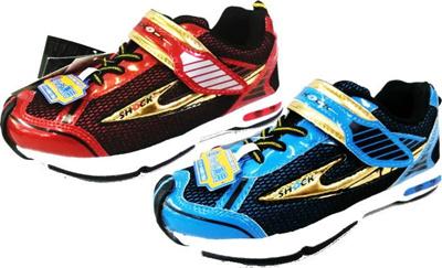 (A倉庫)雷牙 靴 4912 ライガ RAIGA 子供靴 スニーカー 男の子 キッズ ジュニア シューズ  雷牙 SHOCKの画像