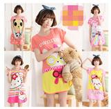 ❤ Over 40 Deisgns ❤ Buy 10 Free 1 ** New Ladies Cute Pyjamas Dress / Pyjamas Set
