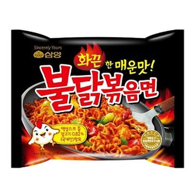 ■ブルダッ炒め麺140g/焼鳥ラーメン三養(辛口)辛さ5■【韓国食品・韓国食材】の画像