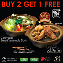 🔥[Ready-to-Eat] 🍴Cordyceps Bak Kut Teh n Salted Veg Duck 🔥 Massive Nutrients with fewer calories!