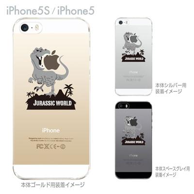 【iPhone5S】【iPhone5】【MOVIE PARODY】【iPhone5ケース】【カバー】【スマホケース】【クリアケース】【ユニーク】【JURASSIC WORLD】 10-ip5-ca0055の画像