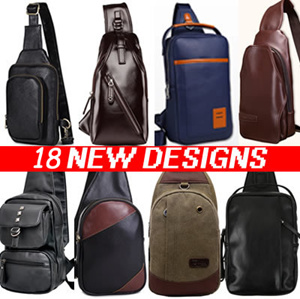 Sling Bag / Chest Bag / Tote Bags / Waist Pouch Bag