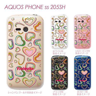 【AQUOS PHONE ss 205SH】【205sh】【Soft Bank】【カバー】【ケース】【スマホケース】【クリアケース】【Vuodenaika】【フラワー】 21-205sh-ne0004caの画像