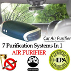 *NEVER AGAIN*SG BEST Car Air Purifier HEPA + UV + Photo catalytic + Ionizer + Fragrance oil etc bag lex. SG Stock 1 Year Warranty car accessories car camera bicycle