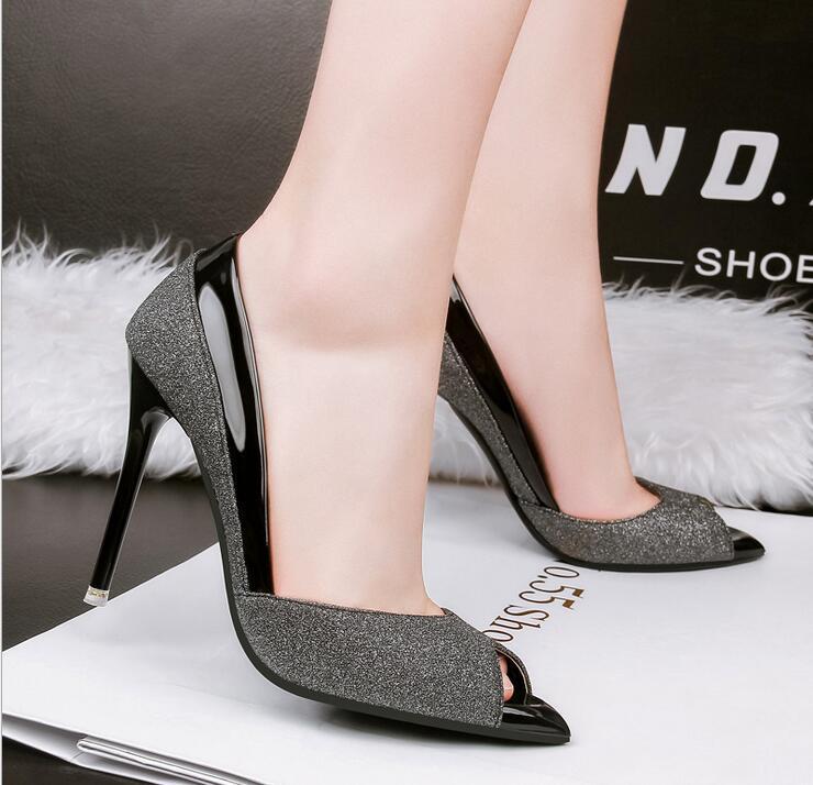 韓国ファッションブーツファッションピンヒール パンプス靴 通勤 痛くない パンプス レディース ハイヒール パンプス パーティーパンプス  ローヒール パーティー 結婚式