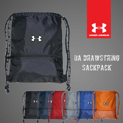 Qoo10 -  Under Armour  Drawstring Sackpack Travel Laptop Sports . c959947be214f