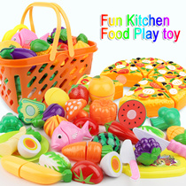 ★FAQ★Fun Kitchen Food Play toy Cutting Fruit Vegetable Knife for Children Gift