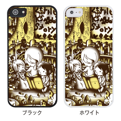 【iPhone5S】【iPhone5】【Little Kingdom Story】【iPhone5ケース】【カバー】【スマホケース】【2人の好きな絵本】 ip5-25-am0001の画像