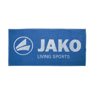 ヤコ(JAKO) スポーツタオル 50x100cm 1246.01 JAKOブルー 【サッカー フットサル】の画像