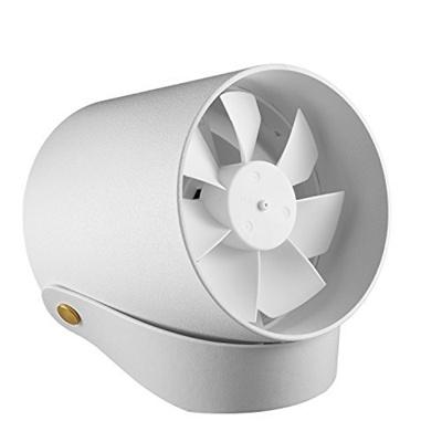 【一流デザイン性、見た事のない美しさ】AnyproUSB扇風機卓上ファン二重羽根反転静音タッチスイッチ風量2段階調節パワフル送風クリエイティブ付きホワイト