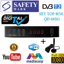 Local Warranty/1080P DVB-T2 Digital TV Box/Set Top Box With Antenna/Tuner/Receiver with SAFETY MARK