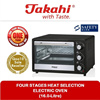 [TAKAHI] Four Stages Heat Selection Electric Oven (16.0-Litre) (Model:1516)