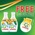 [PnG]【2+1DYNAMO BUNDLE DEAL!】Gives you 2x Stain Removal in 1 Wash. 50% More Cleaning Power Than Ordinary Liquids!