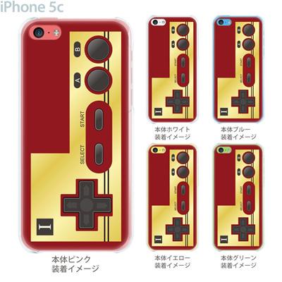 【iPhone5c】【iPhone5cケース】【iPhone5cカバー】【ケース】【カバー】【スマホケース】【クリアケース】【クリアーアーツ】【懐かしのコントローラ】 08-ip5c-ca0076の画像