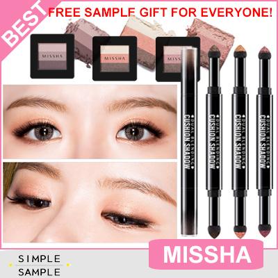 Qoo10 - [MISSHA] Return! Triple Eye shadow / dual blending cushion ...