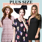 Up to 5XL Premium Plus Size Dresses Tops