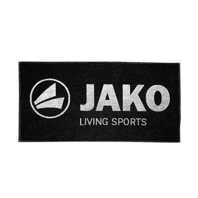 ヤコ(JAKO) スポーツタオル 50x100cm 1246.01 ブラック 【サッカー フットサル】の画像